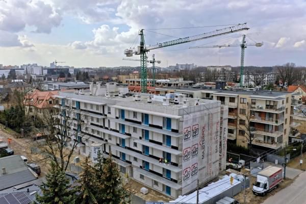Fleminga Residence - widok inwestycji
